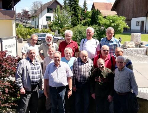 Männerturner Steckborn auf Thurgauer Wanderwegen